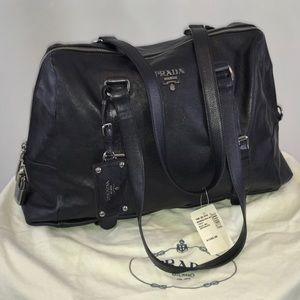 NWT Authentic Prada Bag. Color Anthracite.
